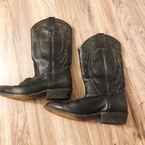 Vintage Frye western cowboy boots